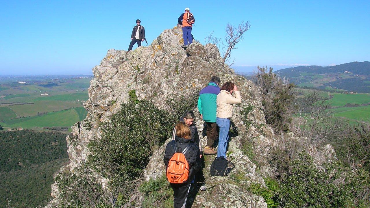 Riserva di Montenero: sperone roccioso