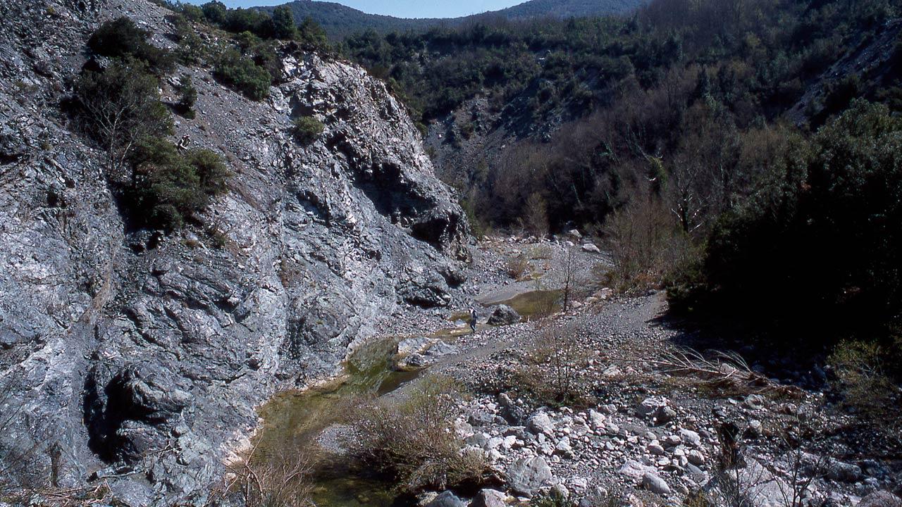 Riserva di Monterufoli: torrente Trossa